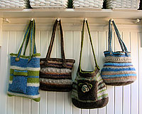 Felted Wool Bags