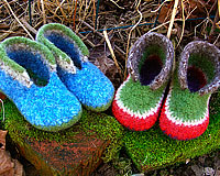 Felted Booties