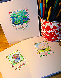 Hand-drawn Notecards